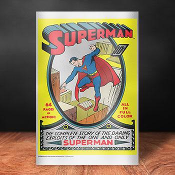 Superman #1 Silver Foil Silver Collectible