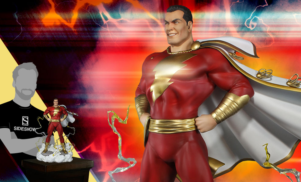Gallery Feature Image of Super Powers Shazam Maquette - Click to open image gallery