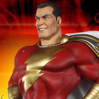 Super Powers Shazam DC Comics Maquette
