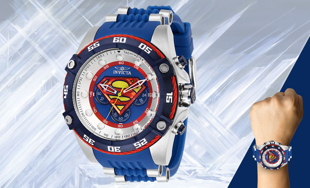 Gallery Feature Image of Superman Watch - Model 29121 Jewelry - Click to open image gallery