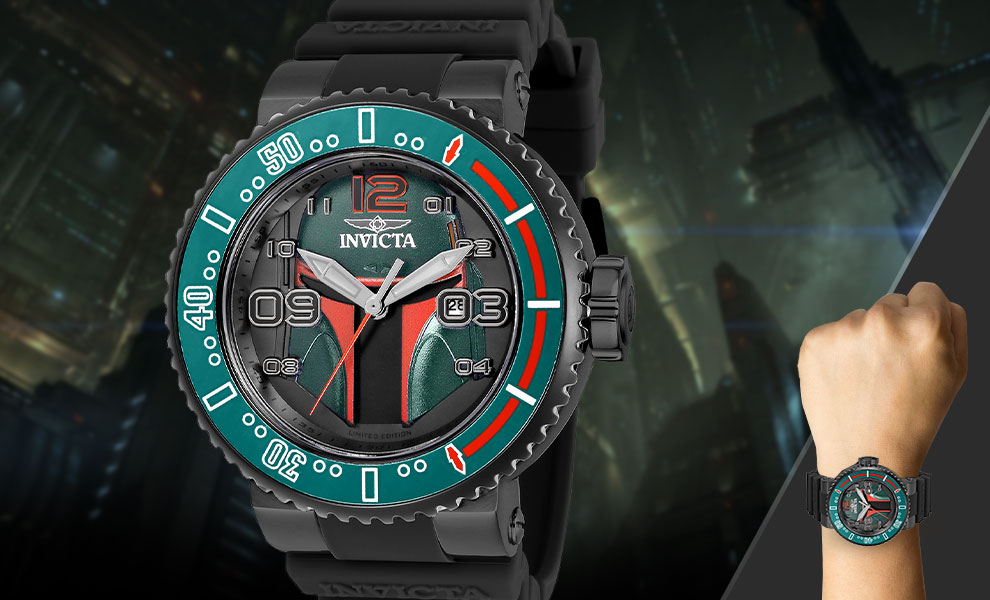 Gallery Feature Image of Boba Fett Watch - Model 27669 Jewelry - Click to open image gallery