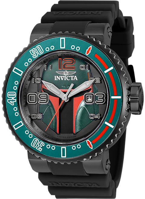 Invicta Boba Fett Watch - Model 27669 Jewelry