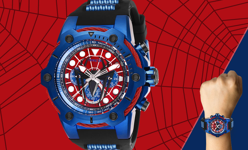 Gallery Feature Image of Spider-Man Watch - Model 26914 Jewelry - Click to open image gallery