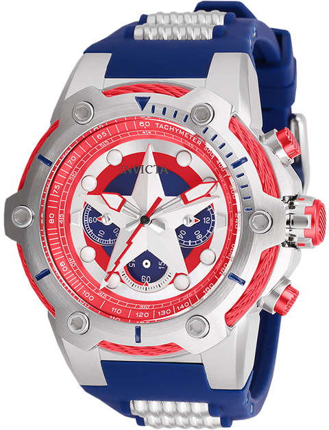 Invicta Captain America Watch - Model 26894 Jewelry