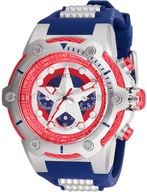 Captain America Watch - Model 26894 Jewelry