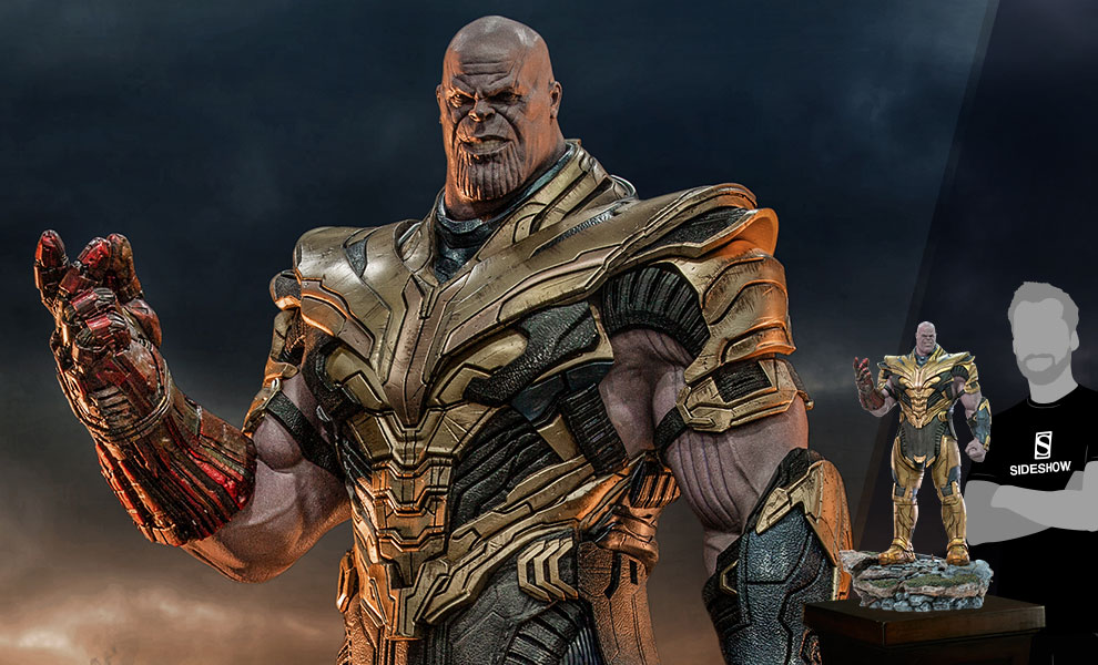 Gallery Feature Image of Thanos (Deluxe) Statue - Click to open image gallery