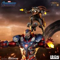 Gallery Image of Iron Patriot & Rocket 1:10 Scale Statue