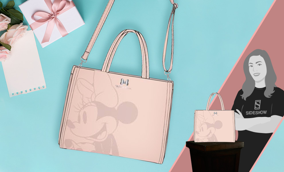 Gallery Feature Image of Minnie Mouse Crossbody Bag Apparel - Click to open image gallery