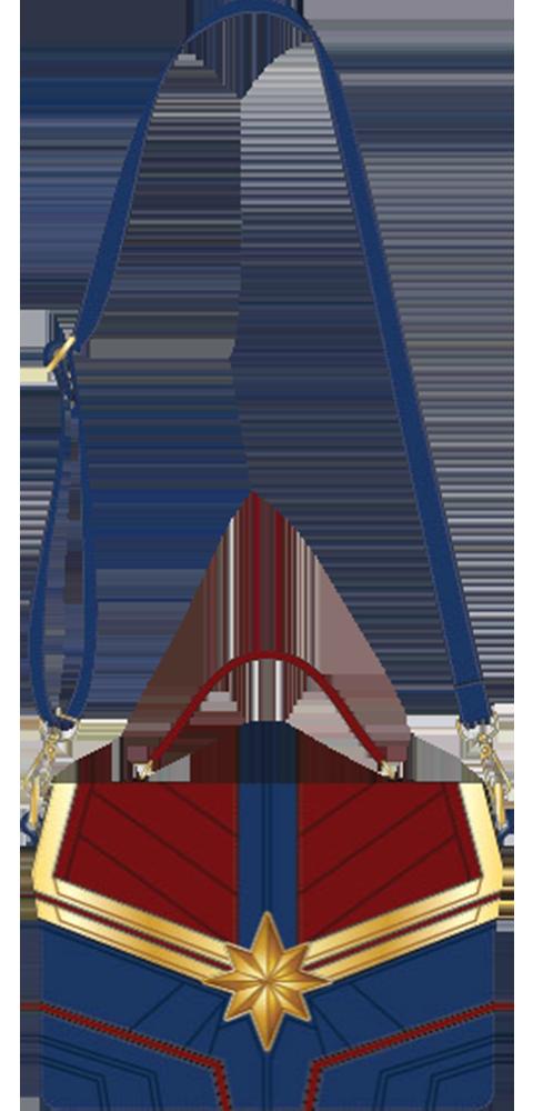Loungefly Captain Marvel Crossbody Bag Apparel