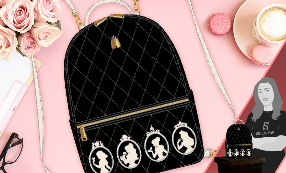 Gallery Feature Image of Disney Princess (Silhouette) Mini Backpack Apparel - Click to open image gallery