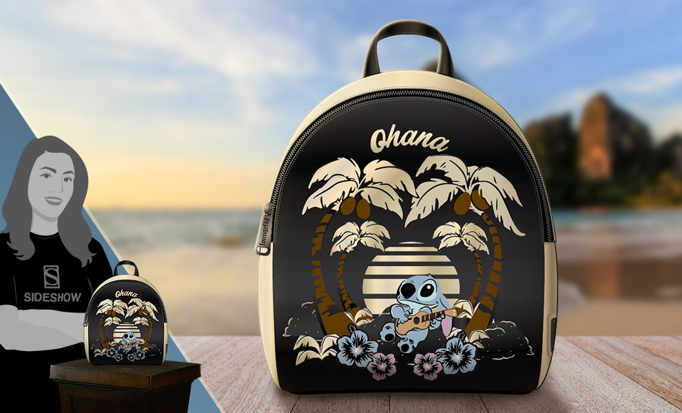 Gallery Feature Image of Stitch (Ohana) Mini Backpack Apparel - Click to open image gallery