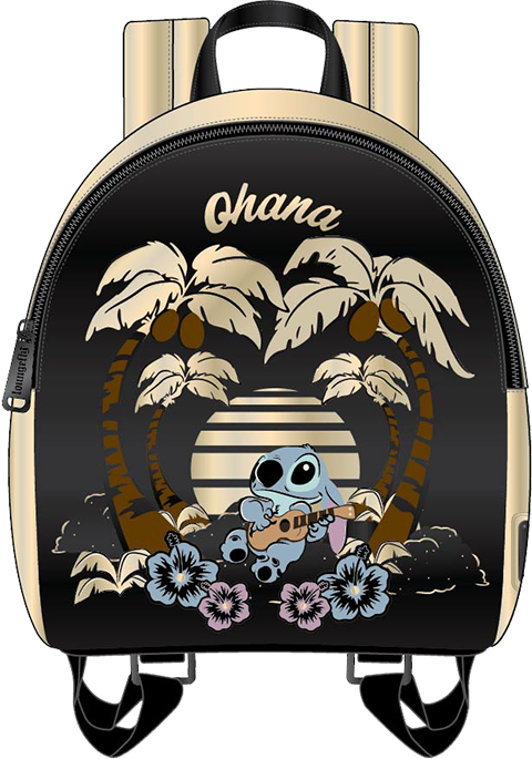 Loungefly Stitch (Ohana) Mini Backpack Apparel
