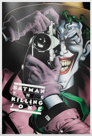 Batman: The Killing Joke Silver Foil Silver Collectible