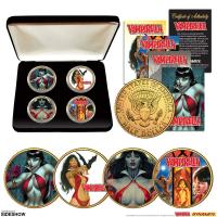Gallery Image of Vampirella 50th Anniversary 24kt Gold Coin Set Collectible Set