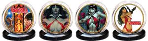 Vampirella 50th Anniversary 24kt Gold Coin Set Collectible Set