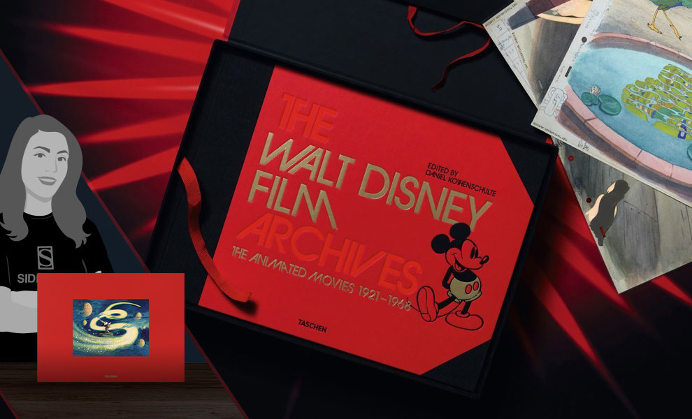 Gallery Feature Image of The Walt Disney Film Archives: The Animated Movies 1921-1968 Book - Click to open image gallery