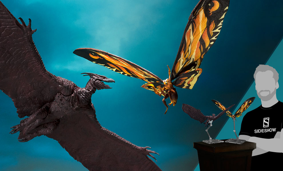 Gallery Feature Image of Mothra and Rodan Collectible Set - Click to open image gallery