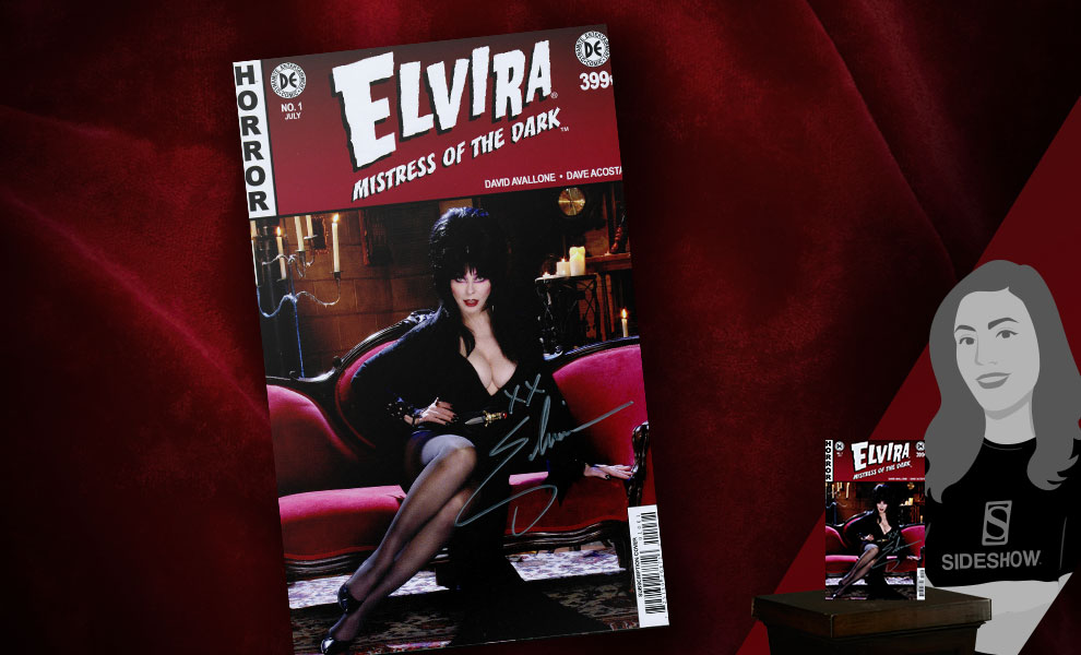 Gallery Feature Image of Elvira: Mistress of the Dark Issue #1 Book - Click to open image gallery
