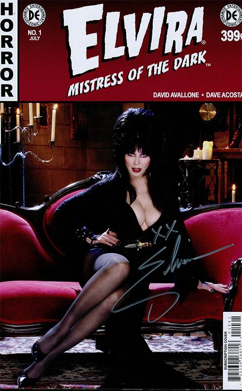 Dynamite Entertainment Elvira: Mistress of the Dark Issue #1 Book