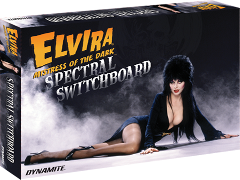 Dynamite Entertainment Elvira Mistress of the Dark Deluxe Spectral Switchboard Board Game