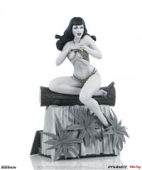 Gallery Image of Bettie Page (Black & White Edition) Statue