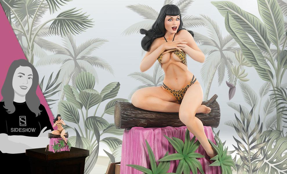 Gallery Feature Image of Bettie Page (Artist Proof Edition) Statue - Click to open image gallery