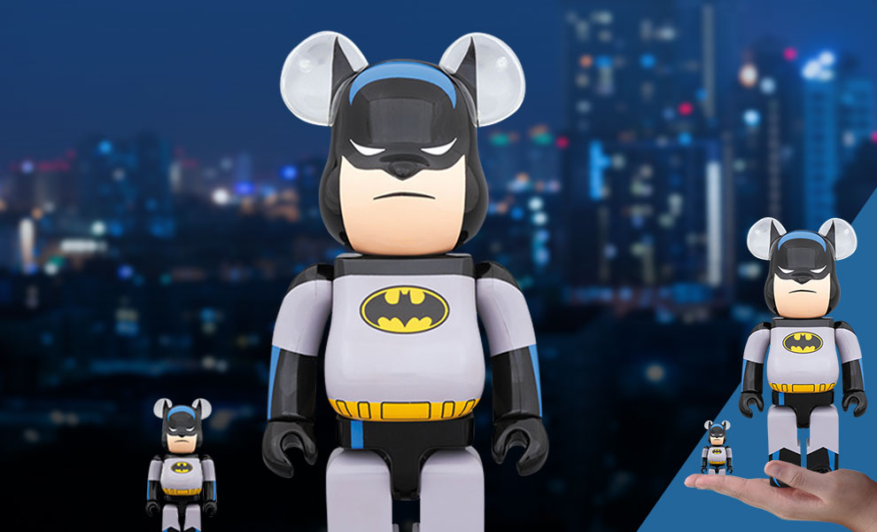 Gallery Feature Image of Be@rbrick Batman Animated 100% and 400% Collectible Set - Click to open image gallery