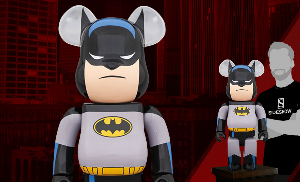 Gallery Feature Image of Be@rbrick Batman Animated 1000% Figure - Click to open image gallery