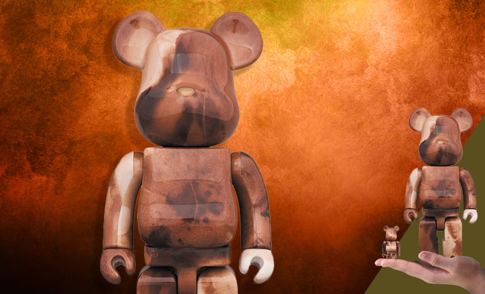 Gallery Feature Image of Be@rbrick Pushead #4 100% and 400% Collectible Set - Click to open image gallery