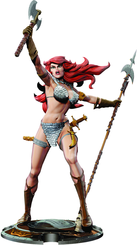 Dynamite Entertainment Red Sonja Statue