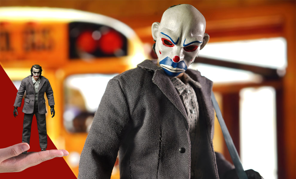 Gallery Feature Image of The Joker (Bank Robber Version) Figure - Click to open image gallery