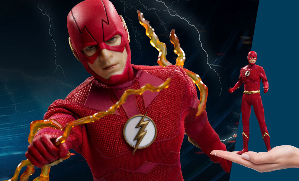 Gallery Feature Image of The Flash 2.0 (Deluxe) Collectible Figure - Click to open image gallery
