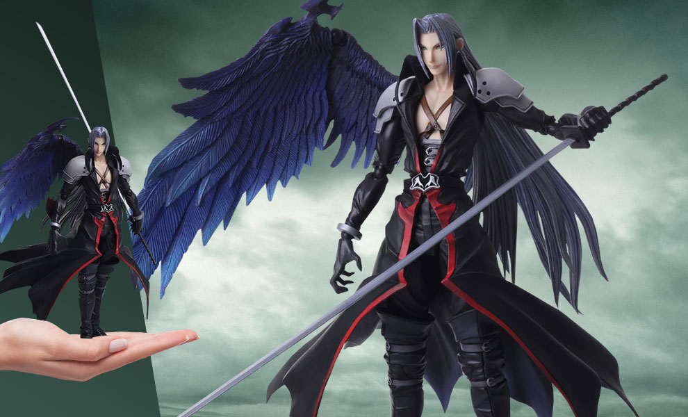 Gallery Feature Image of Sephiroth Another Form Variant Collectible Figure - Click to open image gallery