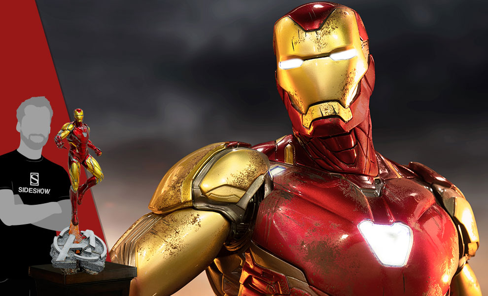 Gallery Feature Image of Iron Man Mark LXXXV Statue - Click to open image gallery