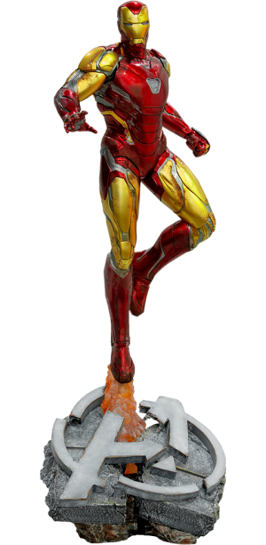 Iron Man Mark LXXXV Statue