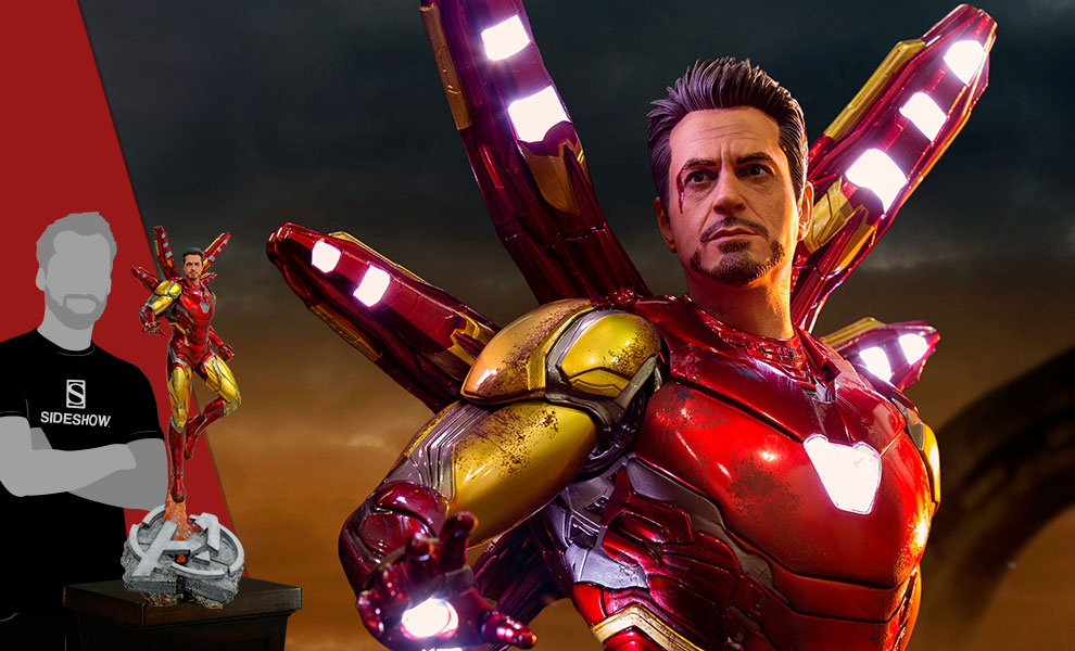 Gallery Feature Image of Iron Man Mark LXXXV (Deluxe) Statue - Click to open image gallery