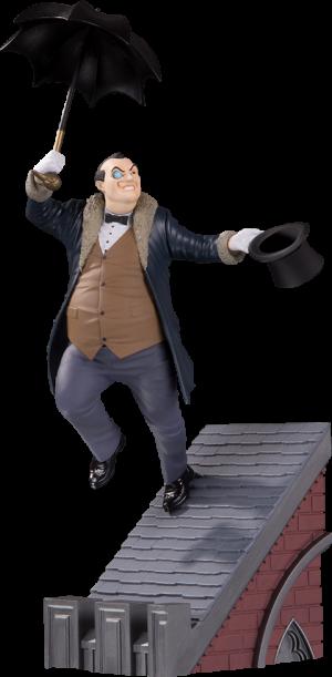 The Penguin Statue
