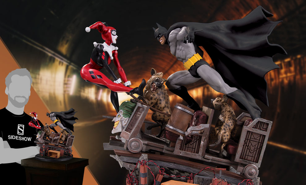Gallery Feature Image of Batman VS. Harley Quinn Battle Statue - Click to open image gallery
