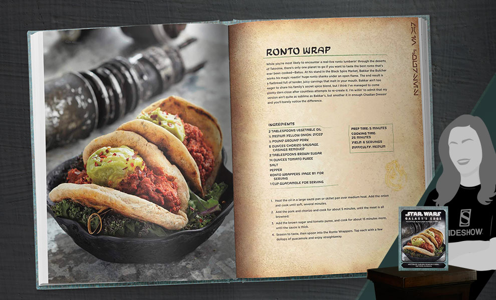Gallery Feature Image of Star Wars: Galaxy's Edge Cookbook Book - Click to open image gallery