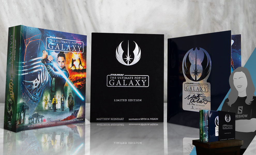 Gallery Feature Image of Star Wars: The Ultimate Pop-Up Galaxy (Limited Edition) Book - Click to open image gallery