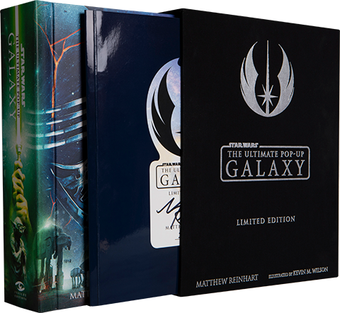 Insight Editions Star Wars: The Ultimate Pop-Up Galaxy (Limited Edition) Book