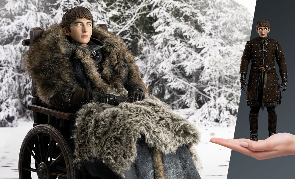 Gallery Feature Image of Bran Stark (Deluxe Version) Sixth Scale Figure - Click to open image gallery