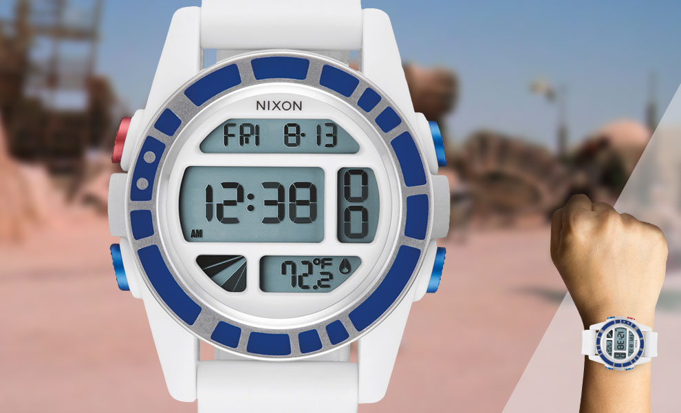 Gallery Feature Image of R2-D2 White Watch Jewelry - Click to open image gallery