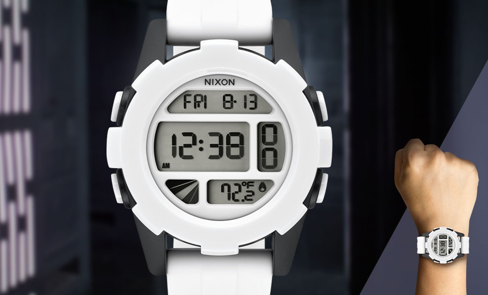Gallery Feature Image of Stormtrooper White Watch Jewelry - Click to open image gallery
