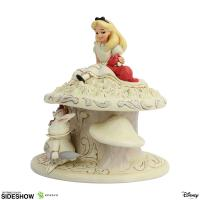Gallery Image of White Woodland Alice in Wonderland Figurine