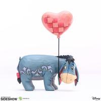 Gallery Image of Eeyore with a Heart Balloon Figurine
