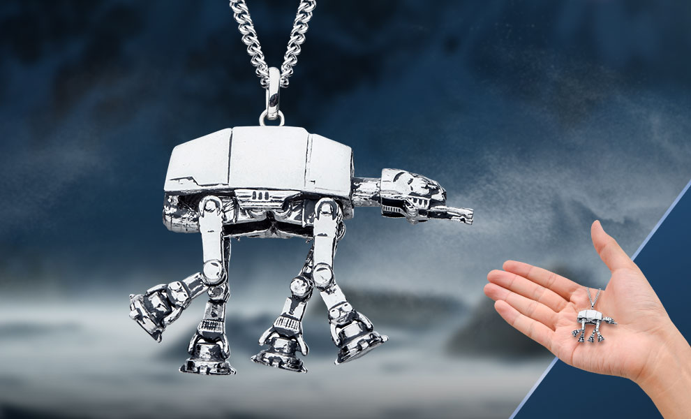 Gallery Feature Image of AT-AT Necklace Jewelry - Click to open image gallery