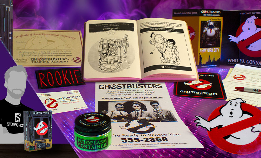 Gallery Feature Image of Ghostbusters Employee Welcome Kit Collectible Set - Click to open image gallery