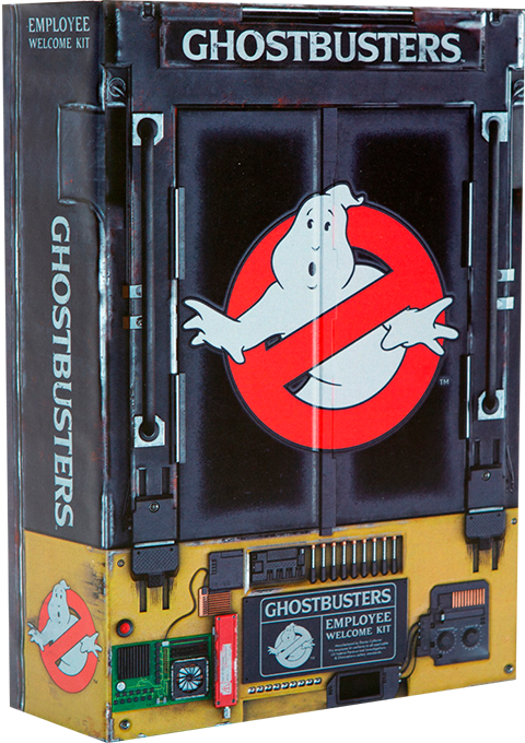Doctor Collector Ghostbusters Employee Welcome Kit Collectible Set