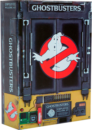 Ghostbusters Employee Welcome Kit Collectible Set